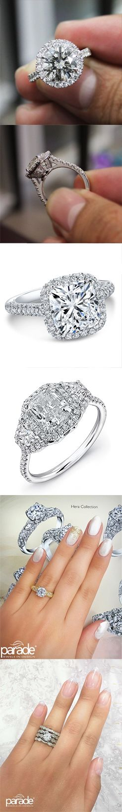 Halo Collection at kingofjewelry.com