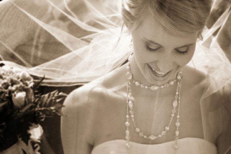 Bride + veil