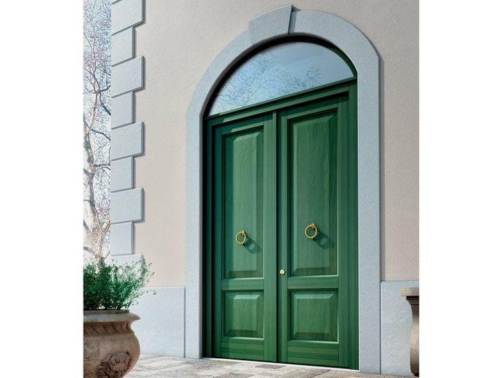 Porta d'ingresso in legno per esterno Collezione FIRENZE by BG legno