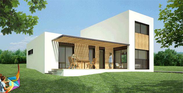 Casas modulares | Casas Prefabricadas - Modelo 2.1 - 4-5 DORMITORIOS 2-3 BAÑOS/ 151,50m2