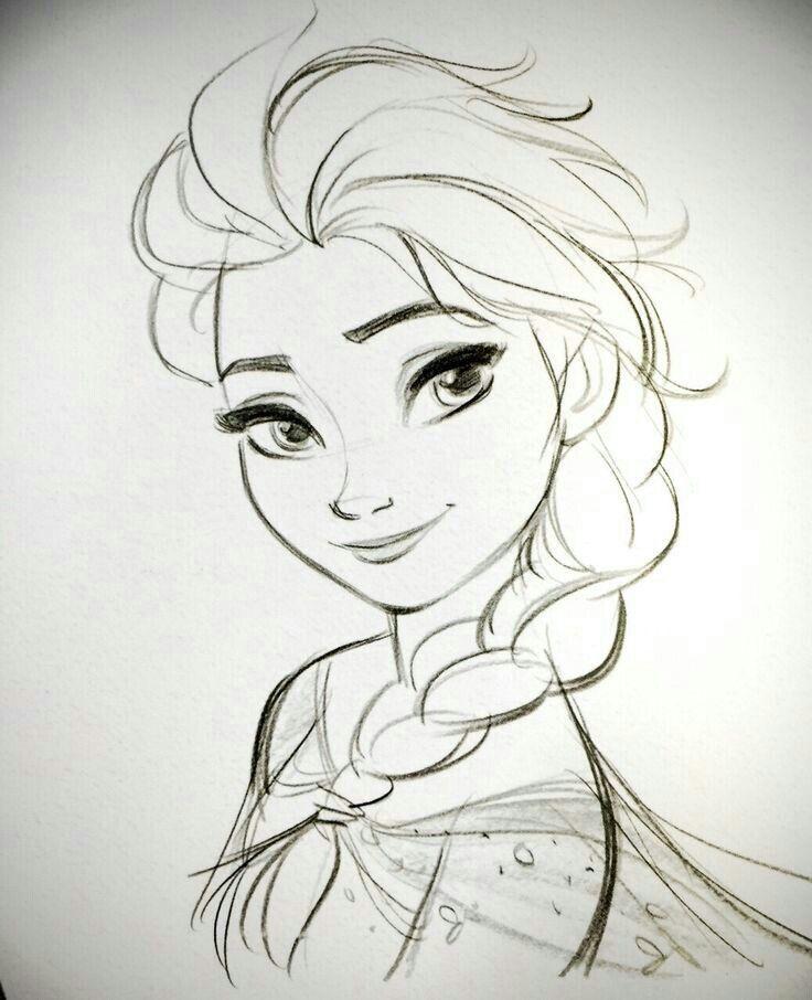 Elsa, akiről Azuriát mintáztam