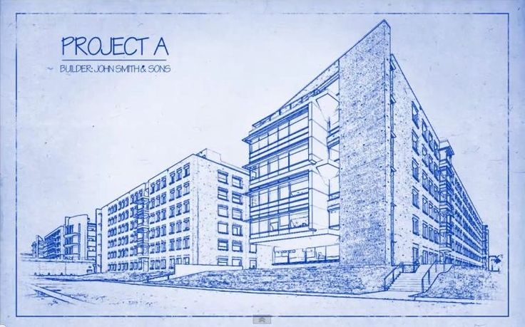 Architectural Drawing Blueprint transform a photo into an architect's blueprint drawing