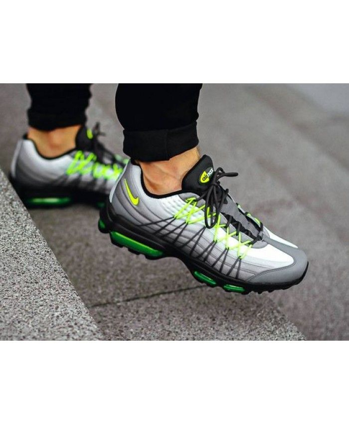 Nike Air Max 95 Ultra Se Og Neon Trainers Sale