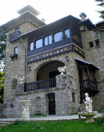 House in Sinaia , Romania.