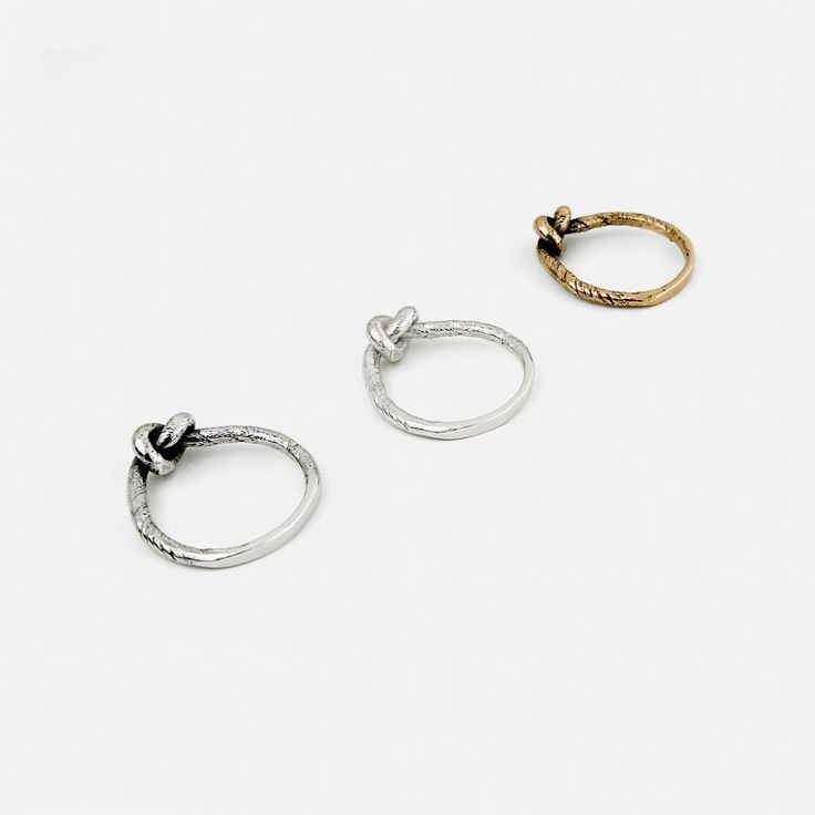 Knot Rings - SIGNED⠀ Available at the onlineshop