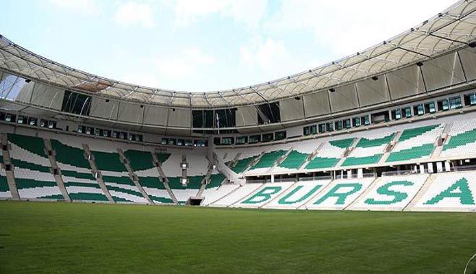 Bursaspor yeni stad son hali