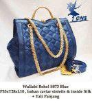 Tas Wanita Wallabi Behel Blue hanya di www.lapizar.com