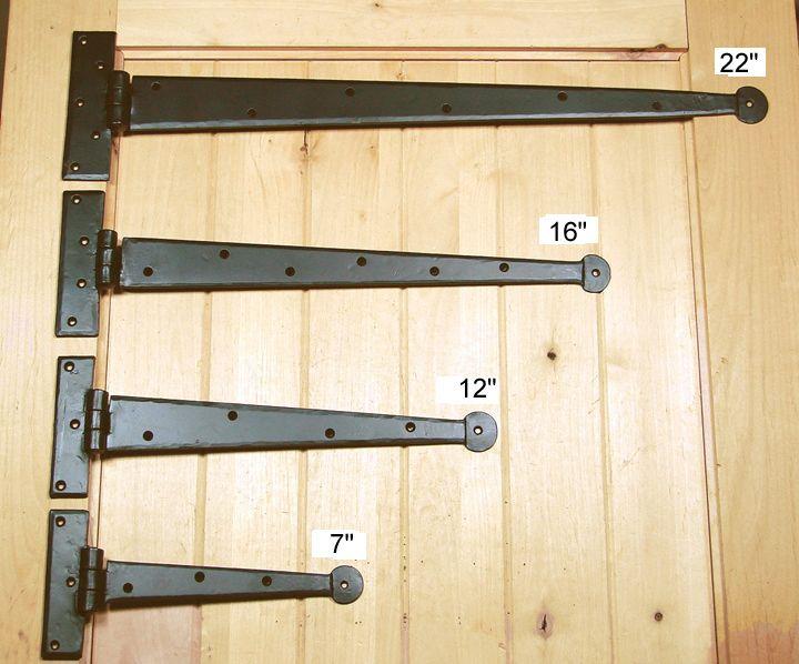 Strap Hinges: Rustic Strap Hinges, Decorative Hinges And Dummy Strap Hinges.  Garage Door ...