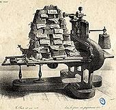 Dessin du journal, La caricature - Musée de l'imprimerie Lyon
