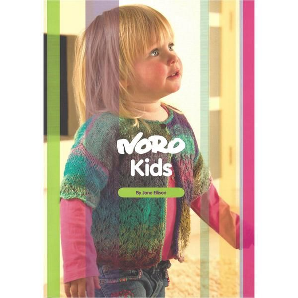 NORO KIDS - 10 knitting designs for children aged 1 - 10 years - by Ja – TUPPY'S AUSSIE FABRICS