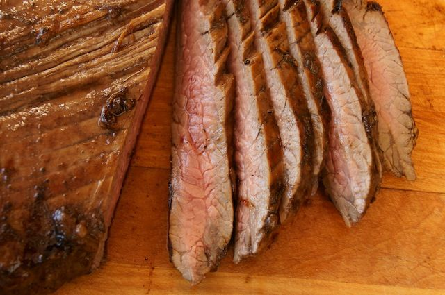 Grilled Coffee Balsamic Flank Steak | Cooking On The Weekends  http://cookingontheweekends.com/2013/01/grilled-coffee-balsamic-flank-steak/