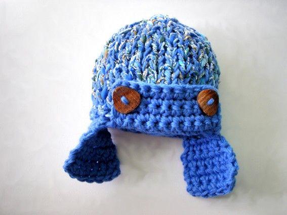 Abbigliamento Bambino Cappellino neonato fatto a mano Accessori neonato Aviatore marinaio. $31,00, via Etsy.