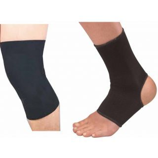 ThermoActive Pack Of Ankle & Knee Compression Supports One Pair Each @ Rs 189