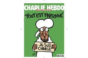 Une de Charlie Hebdo : Mahomet est Charlie