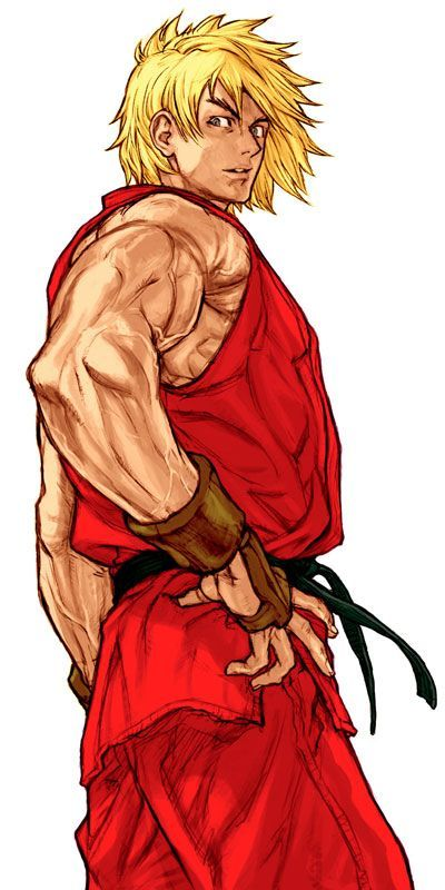 Ken Masters (Capcom vs SNK 2:Mark of the Millennium 2001) Artist: Kinu Nishimura
