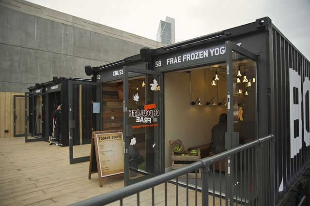 "BOXPARK ""Pop-up Mall"