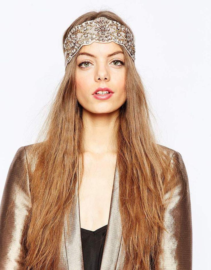 ASOS+Premium+Embellished+Blush+Stone+Headband
