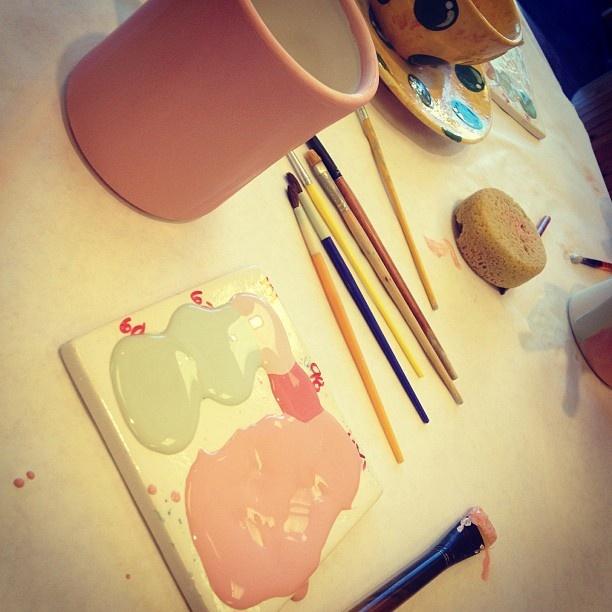 #paint #pottery #life #love #nashville #paintbrush