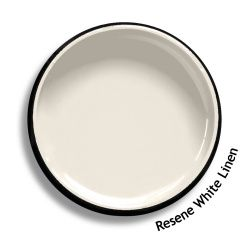 Resene White Linen*'Resene White Linen is a surprising complex neutral that will combine well with most colourways. Also available as a Resene CoolColour. A change in tone or product may be required for some colours to achieve a Resene CoolColour effect.'