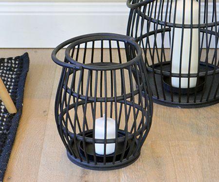 Black Cane Lantern