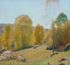 Autumn in Old Lyme - Frank Vincent DuMond - The Athenaeum