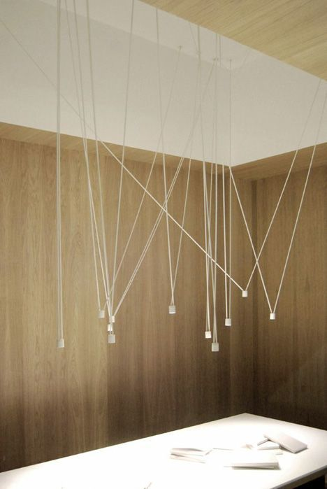 A range of installation designs are configured for this light fixture using an online tool.