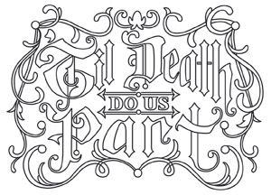 Perfect For Weddings With A Seriously Spooky Twist Or Romantic Halloween Decor Downloads Kids ColoringColoring SheetsAdult