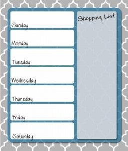 Get your FREE printable menu planner at Thriving Home and start saving money, eating healthier and making life easier.