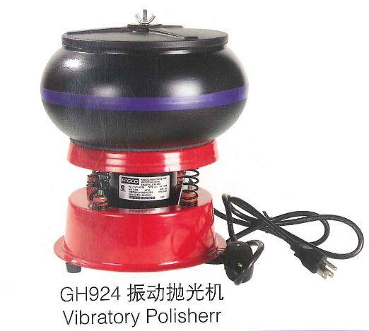 Small Size Vibratory Media Tumbler Polisher Jewelry Polisher & Finisher 220V
