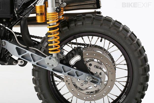 Dual sport motorcycle
