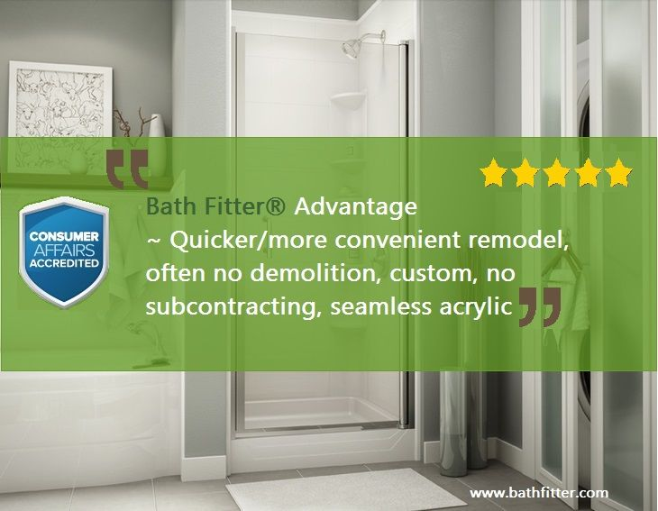 Best Bath Fitter Customers Review Images On Pinterest - Quality advantage bathroom remodeling