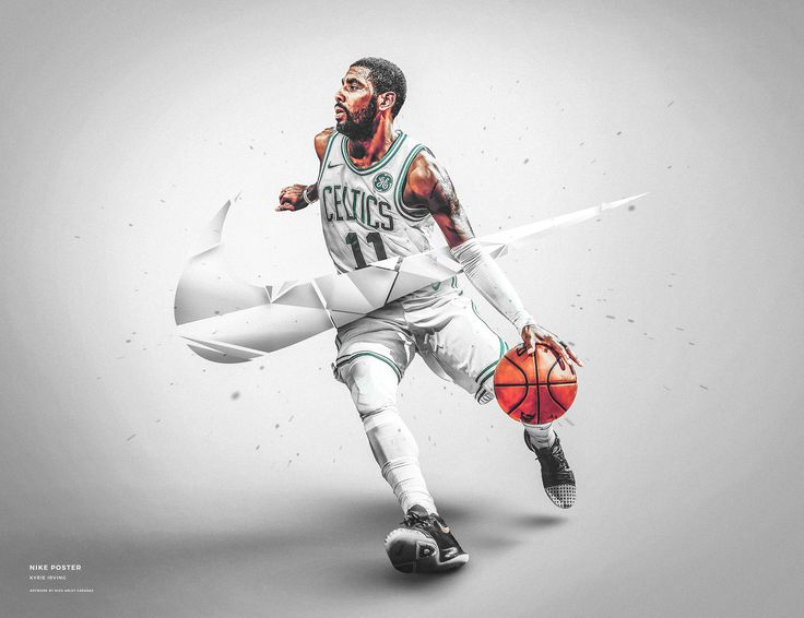 Nick Arley on Behance Nike wallpaper, Nike poster, Kyrie