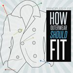 How to fit outerwear - written for men but applies to women as well