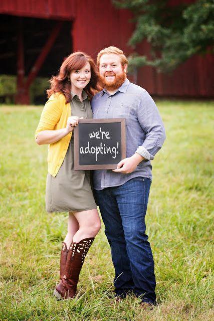 Adoption announcement photos: by Jayson Mullen Design & Photography