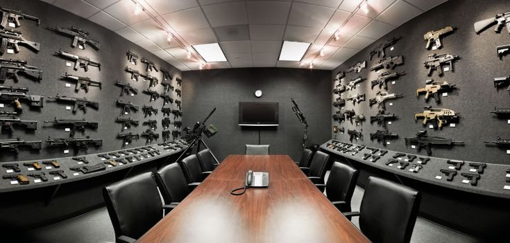 Man Cave Conference : Super manly conference room office pinterest gun