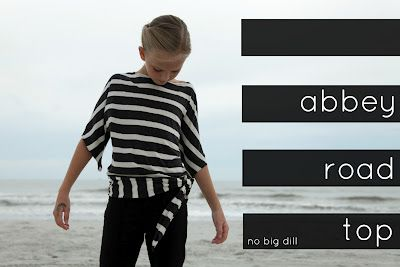 Family Ever After....: {Sewlebrity Crush} Abbey Road Top from No Big Dill