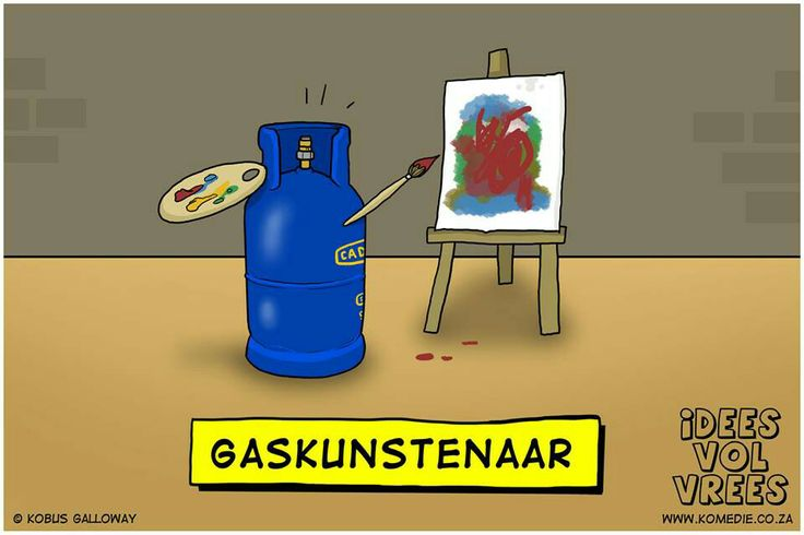 Gas kunstenaar