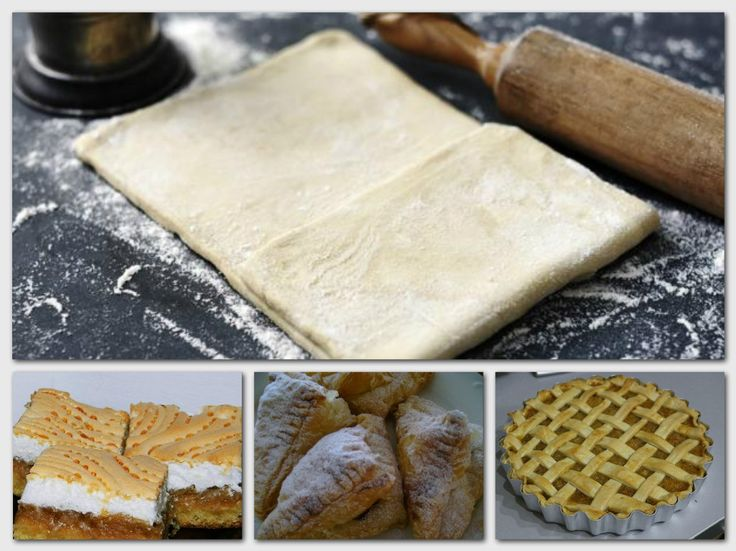 Leveles vajastészta és Omlós tészta   17 recept