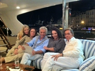 valentino s 152 foot yacht with glamorous friends   google