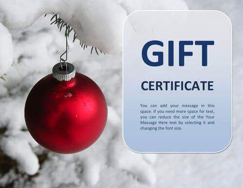 Πάνω από 25 κορυφαίες ιδέες για Gift certificate template word στο - free christmas voucher template