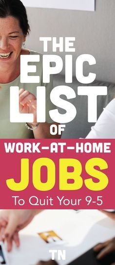 Work at home jobs to quit your 9-5 | Work from home jobs for moms or beginners that want to escape the rat race and create their best life | legitimate make money online jobs | personal finance | Teal Notes |
