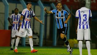 Blog Esportivo do Suíço: Campeonato Gaúcho 2016 - 9ª Rodada: Grêmio sai atrás, mas vence de virada o lanterna