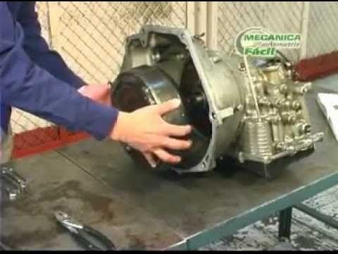 reparación de cajas automáticas (desarmado de la transmisión automática)...