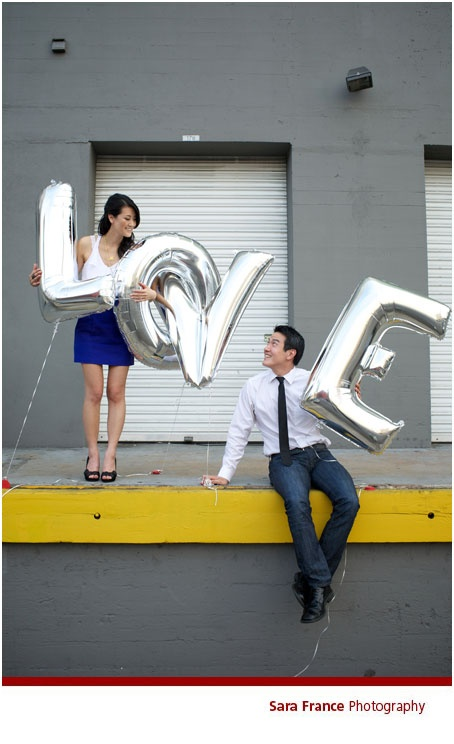 Fun Balloon Engagement Shoot- Jessica and Andrew (Part 1) | Where in the World is France?