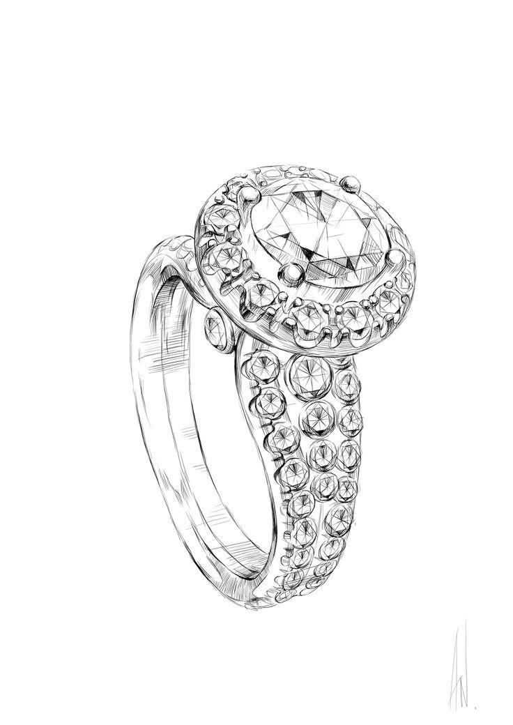 Best 2370 jewelry sketch ideas on Pinterest | Jewellery ...