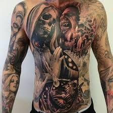 Image result for tattoos chest pictures