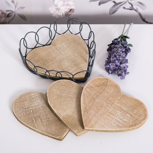 The perfect coffee table accessory for a cottage style home and a lovely gift idea