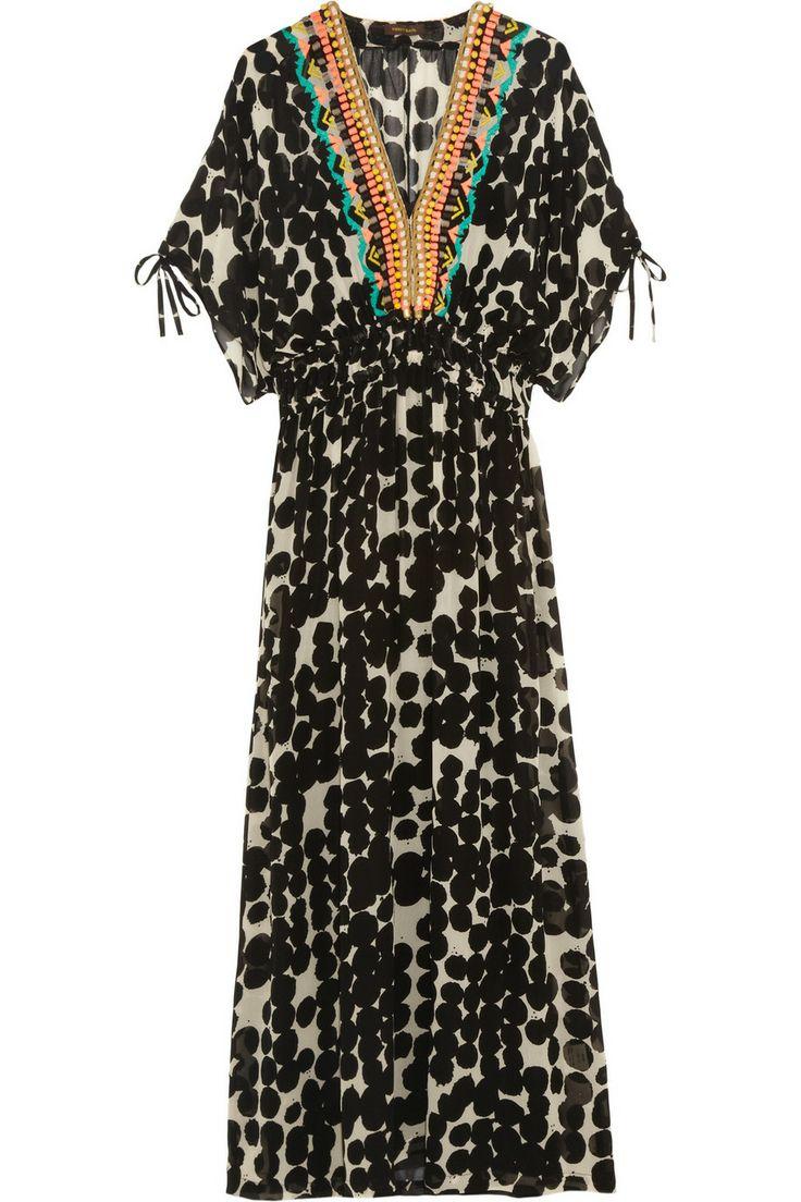 Bohemian dress van Vineet Bahl