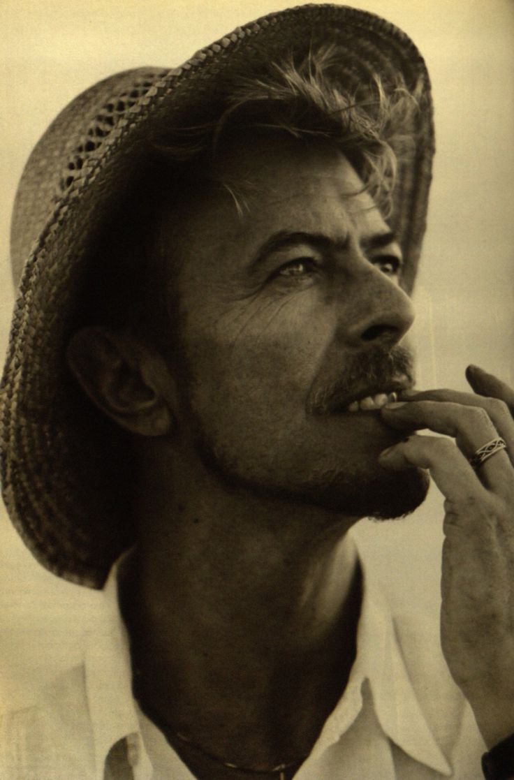 David Bowie by Bruce Weber March 1996 L'Uomo vogue
