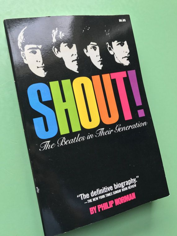 Hey, I found this really awesome Etsy listing at https://www.etsy.com/listing/514651497/1981-shout-the-beatles-in-their